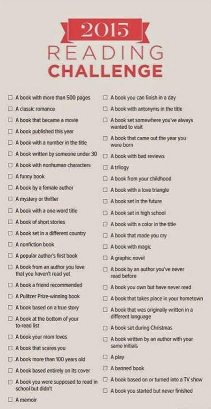 Reading Challenge (1)